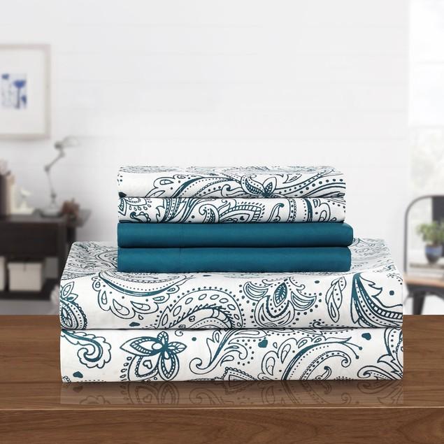 Chic Home Welford Park Super Soft Paisley Sheet Set
