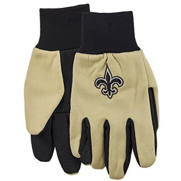 New Orleans Saints Work Gloves Forever Collectibles New Orleans Saints Work