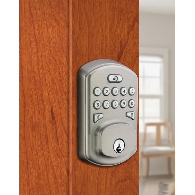 MiLocks Z-Wave Keyless Smart Door Lock w/ Backlit Keypad (Alexa Enabled)