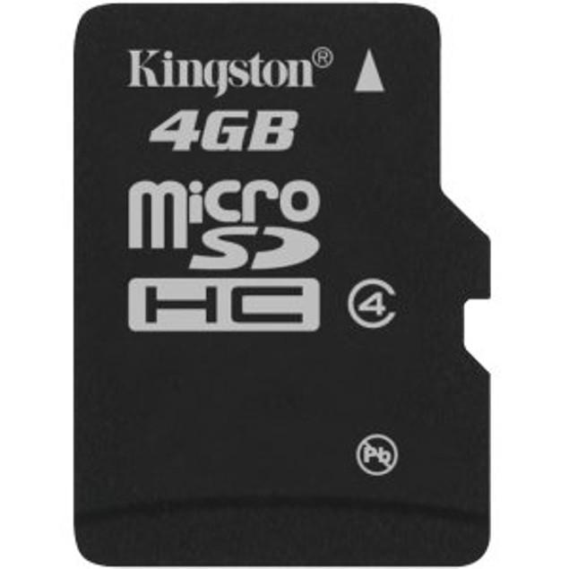 Kingston 4GB microSD High Capacity (microSDHC)