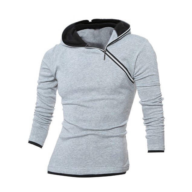 Men's Winter Hoodie Warm Hooded Sweatshirt Coat Jacket Outwear Sweater