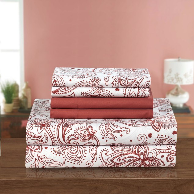 Chic Home Belford Super Soft Paisley Sheet Set