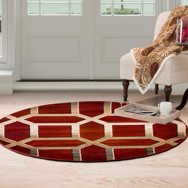 Lavish Home Opus Art Deco Area Rug