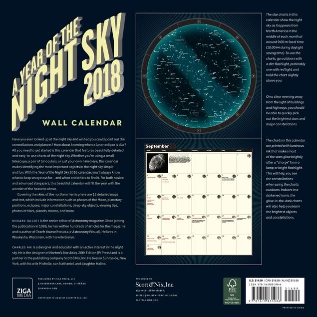 astronomy magazine calendar - 635×635