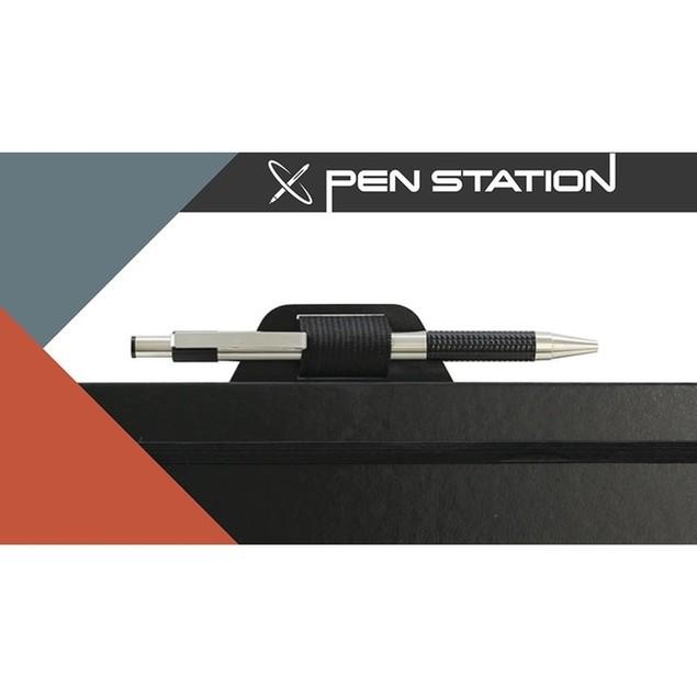 Rocketbook Smart Reusable Notebook Bundle (Rocketbook + PenStation + 1 Pen)