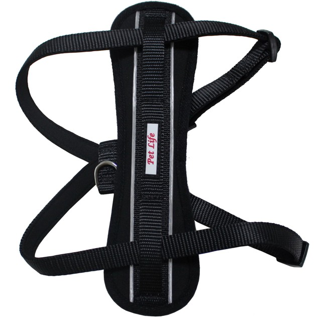 Mountaineer Easy Compression Adjustable Reflective Dog Harness