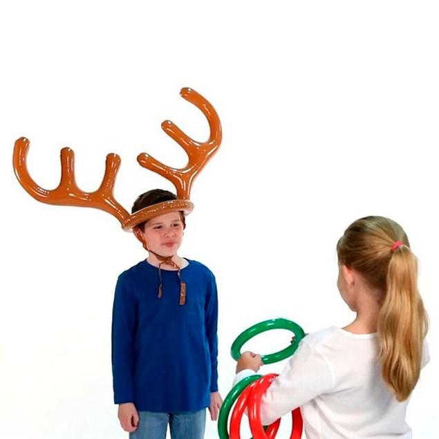Christmas Inflatable Reindeer Toss Game