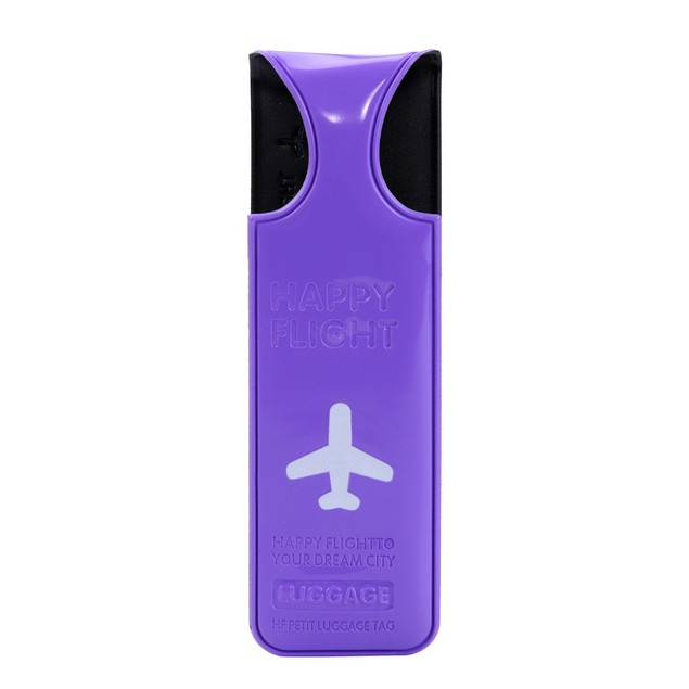 Multicolor Plastic  Luggage Tags Luggage Checked Card