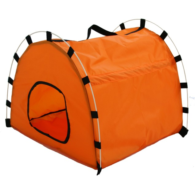 Skeletal Outdoor Travel Collapsible Pet House Tent