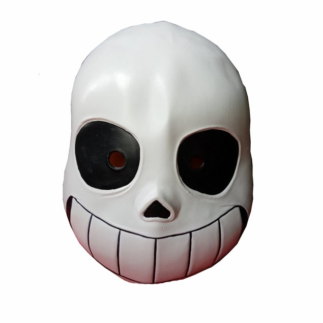 Sans Skeleton Black Eyes Mask