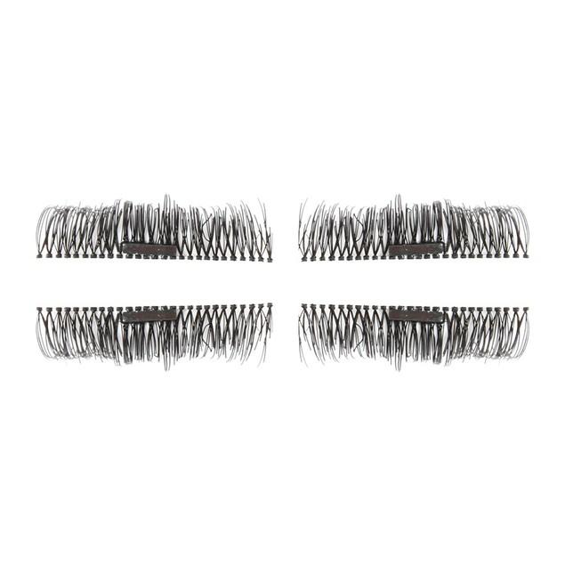 2 Pair 3D Magnetic False Eyelashes Lashes Reusable False Magnet