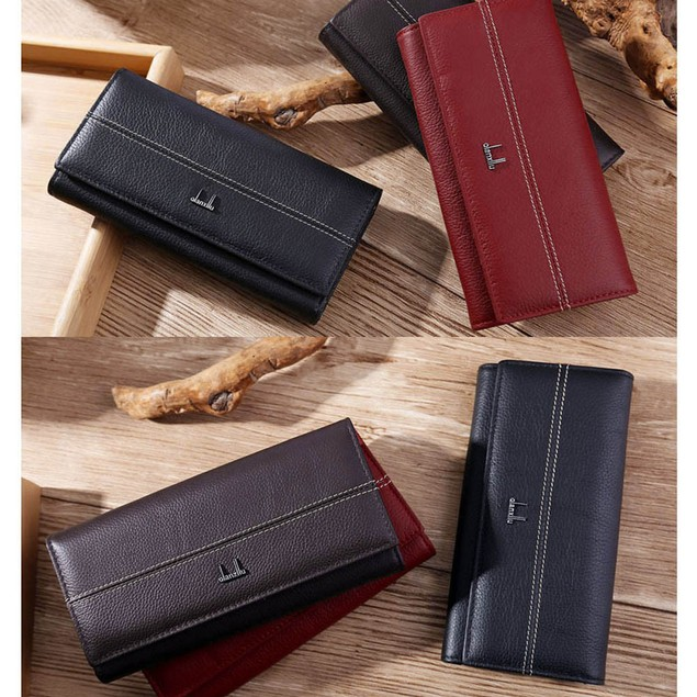 Leather Wallet for Women High Quality Coin Purse Female