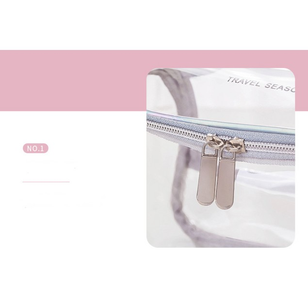 Transparent Large Clear Toiletry Bag