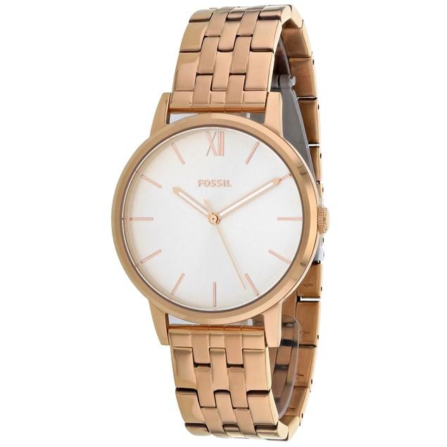 Fossil Women's Cambry Silver Dial Watch - BQ3513