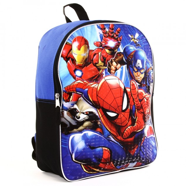 "16"" Marvel/Disney Backpacks For School With Adjustable Padded Back Straps"