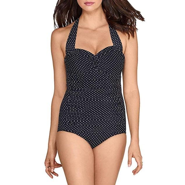 Seafolly Girls' Big Ruffle Trikini Swimsuit, Hawaii Blue, 10