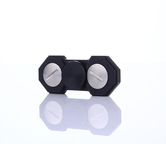 LED Light Hand Spinner Fidget Toys Aluminium Finger Ball For Autism ADHD