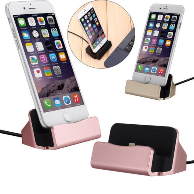 iPhone Compatible Charging Dock Station For iPhone 5/6/7/8/X/XS/Plus