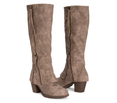 MUK LUKS® Lacy Tall Fashion Boots Was: $120 Now: $54.99.