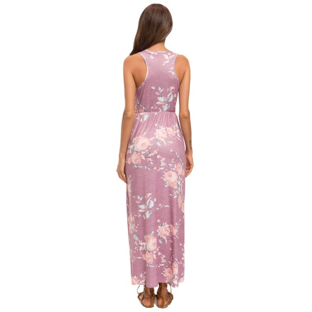 Lilly Posh Heather Maxi Floral Dress