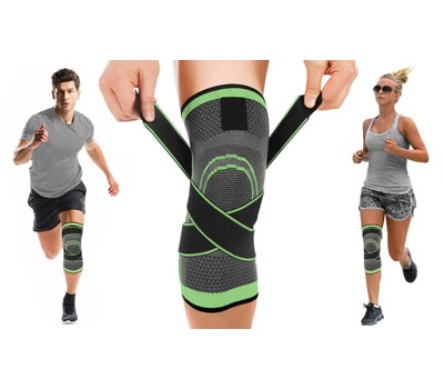 DCF Compression Knee Sleeve with Adjustable Straps Was: $37.99 Now: $10.99.