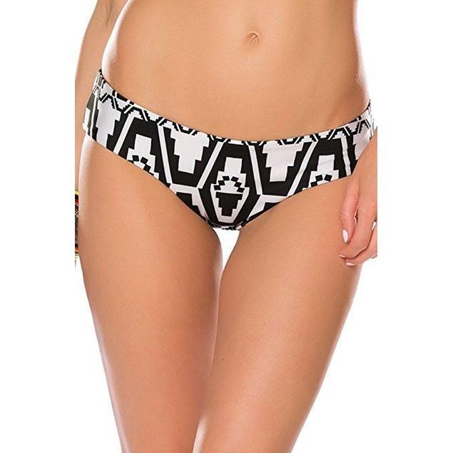 Becca by Rebecca Virtue Women's Reversible Hipster Bikini Bottom SZ: L