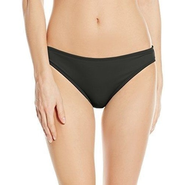 La Blanca Women's Island Goddess Hipster Bikini Bottom, Black, SZ: 4
