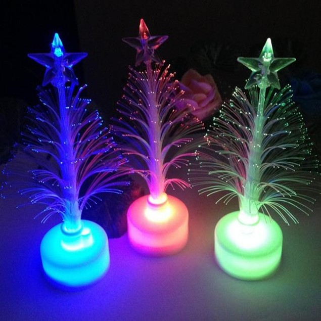 Christmas Xmas Tree Color Changing LED Light Lamp Home Decoration
