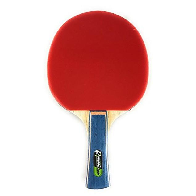 7-Ply Limba Professional Ping Pong Paddle - 'Lightning' Table Tennis Racket