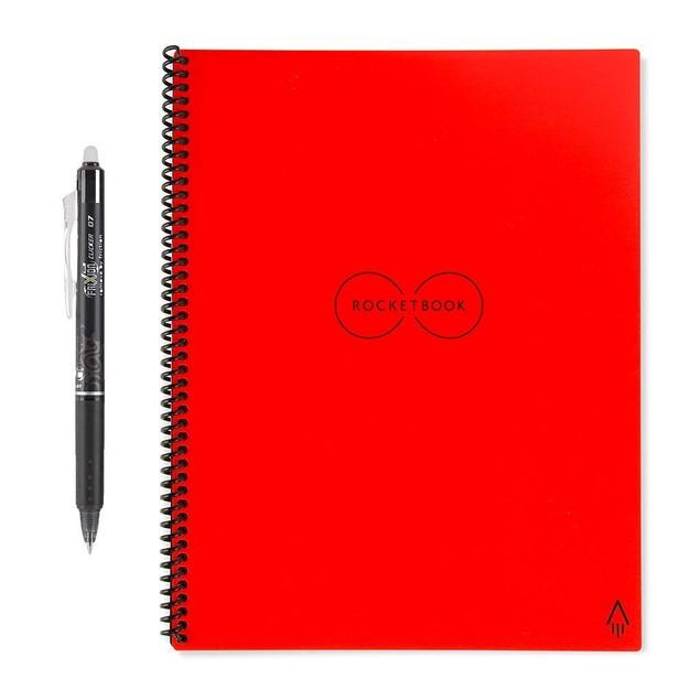 Rocketbook Smart Reusable Notebook Bundle (Rocketbook + Pen + PenStation)