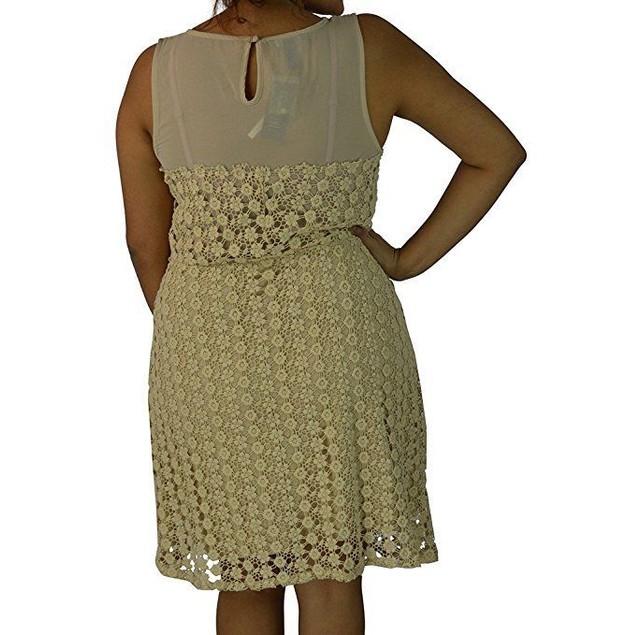 International Concepts Women's Crocheted Dress  SZ:14