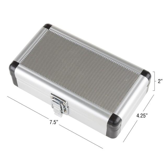 Stalwart Router Bit Set in Aluminum case - 8 Piece
