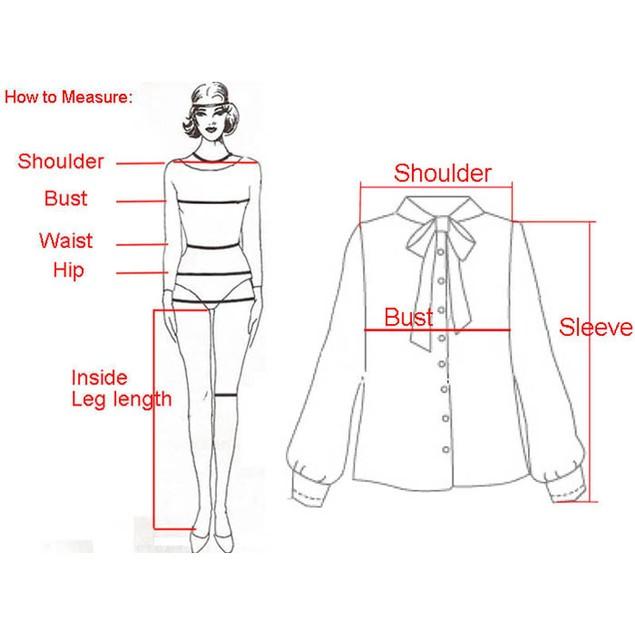 Women Long Sleeve Blouses Chiffon Polka Dots Shirt Tops
