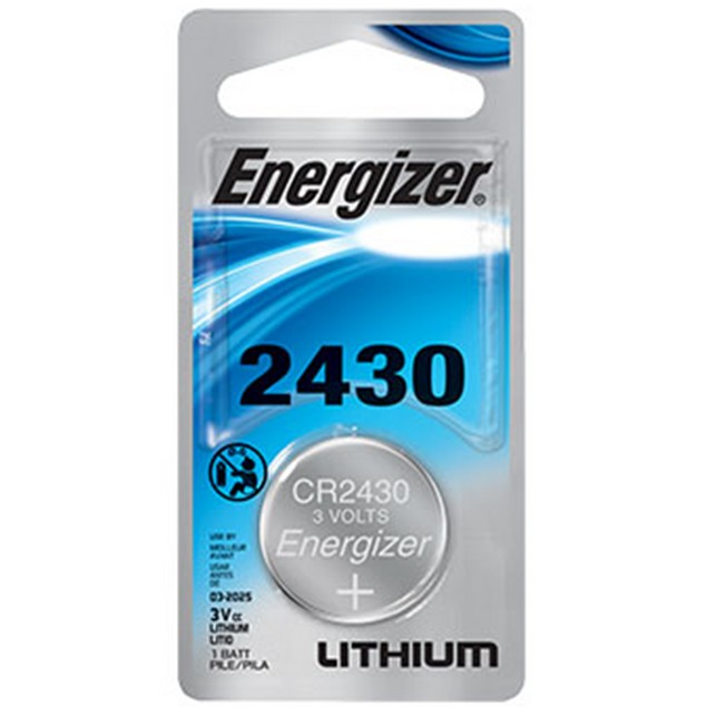 Energizer CR2430 Lithium Coin Cell Battery (1 Battery)