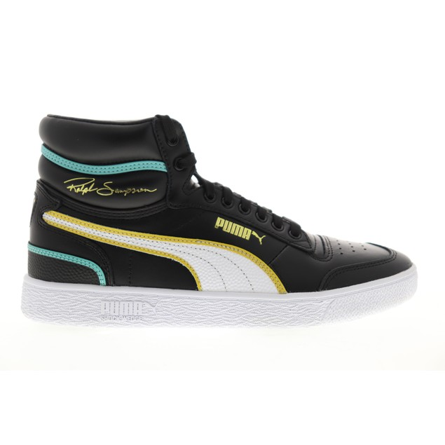 Puma Mens Ralph Sampson Mid Hoops Sneakers Shoes