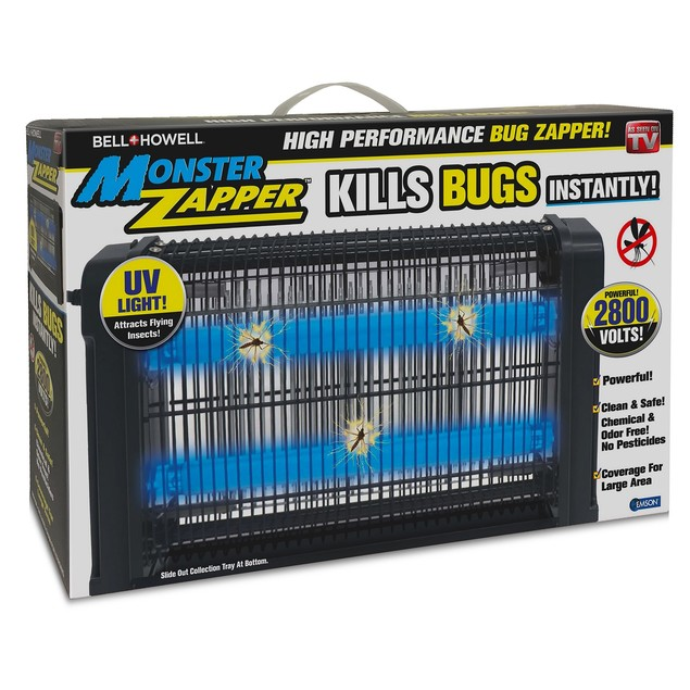 Bell + Howell Monster Zapper Powerful Indoor Electric Bug and Fly Zapper