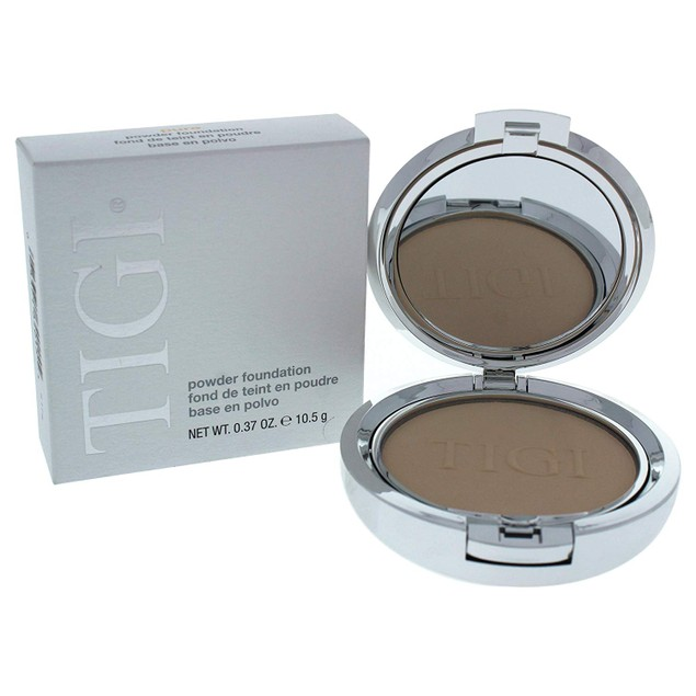 TIGI Cosmetics Lightweight Oil-free Powder Foundation, 0.37 Oz/10.5g, Pure