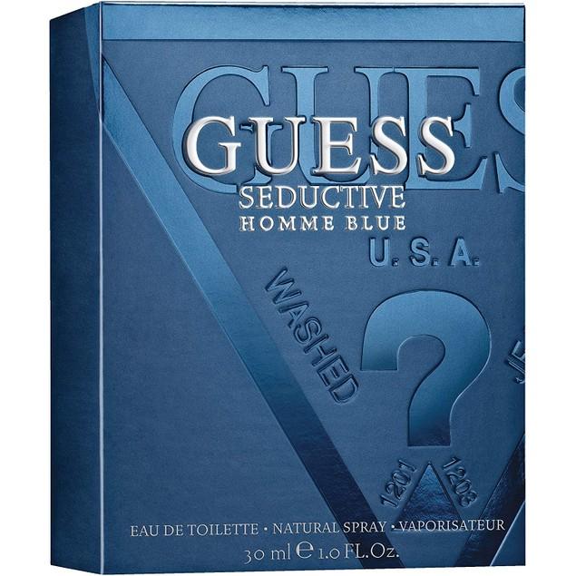 Guess Seductive Homme Blue EDT Spray, Cologne for Men, 1 Fl. Oz.
