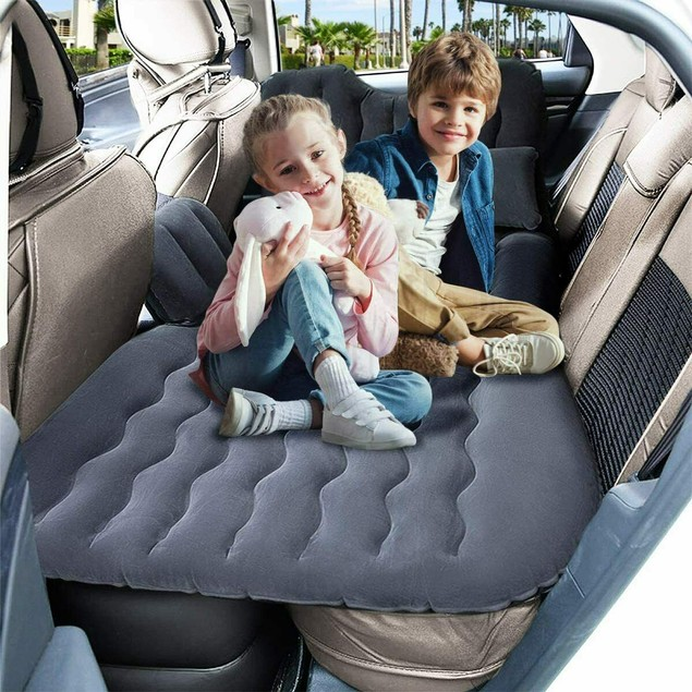 Inflatable Travel Car Camping Mattress Bed
