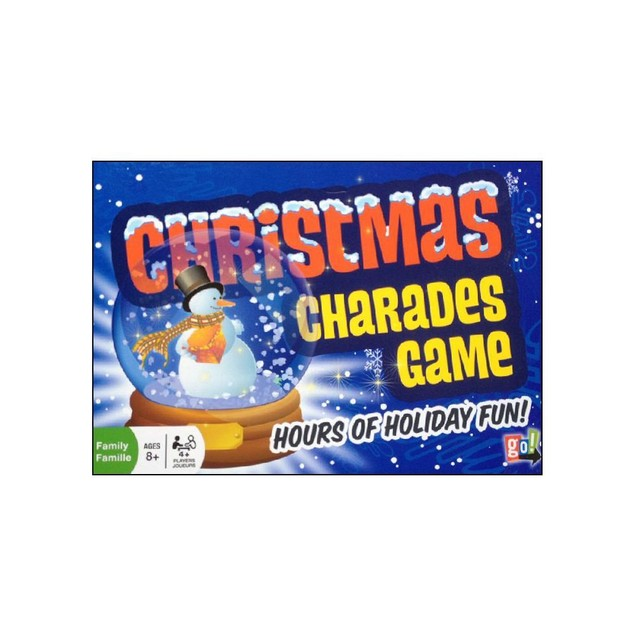 Christmas Charades Board Game, Christmas Games by Go! Games