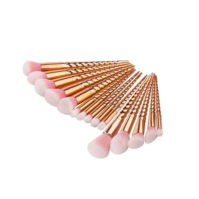15PCS  Make Up Eyebrow Eyeliner Blush Cosmetic Concealer Brushes