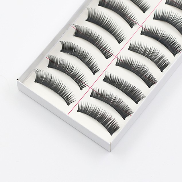 10-Pairs False Eye Lashes