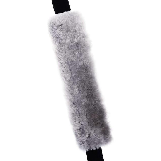 4-Pack Zone Tech Gray Car Seat Belt Pads Luggage Bag Shoulder Straps