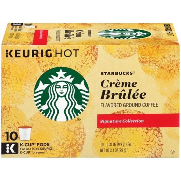 Starbucks Creme Brulee Keurig K-Cups