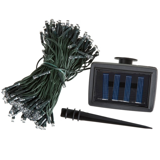 Pure Garden Solar LED String Lights - 72 Feet - 200 LED Lights