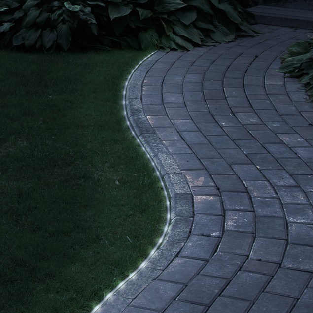 Pure Garden 32 Feet 100 White Solar LED Rope Lights