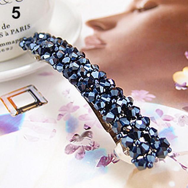 Women's Fashion Bling Full Crystal Hair Clip