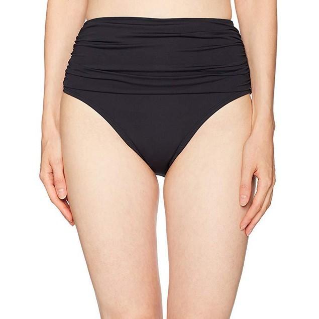 Bleu Rod Beattie Women's Shirred High Waist Bikini Bottom SZ: 8