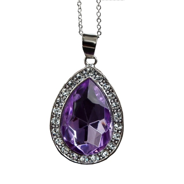 Sofia Purple Amulet Of Avalor Necklace