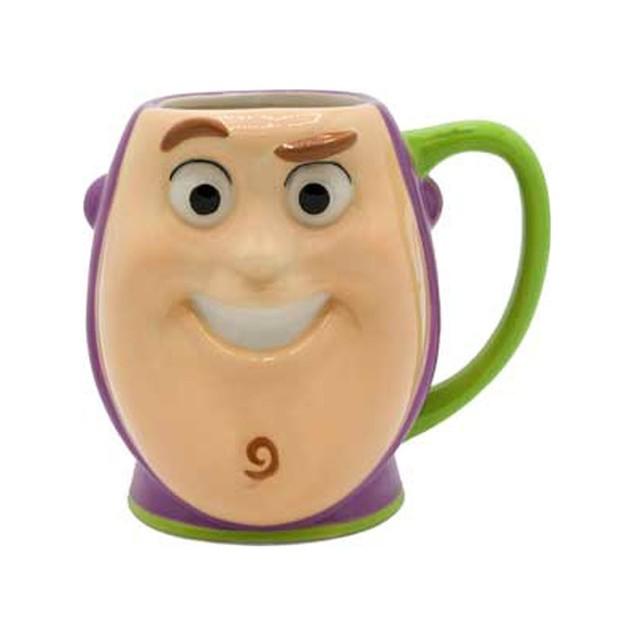 Toy Story Buzz Lightyear 3D Sculpted Ceramic Mug